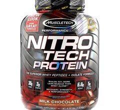 صورة نيترو تك Nitro Tech من شركة Muscle tech – بالكرياتين و BCAAs