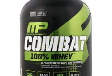 صورة Combat Whey protein 100% كومبات واي بروتين – للتنشيف