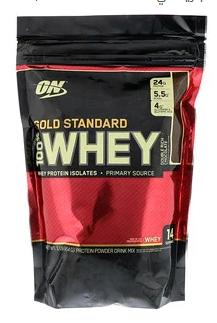 صورة واي بروتين جولد ستاندرد Gold standart whey protein  – أفضل واي للمبتدئين –